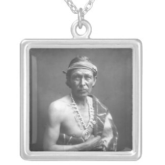 The Medicine Man, c.1915 Silver Plated Necklace