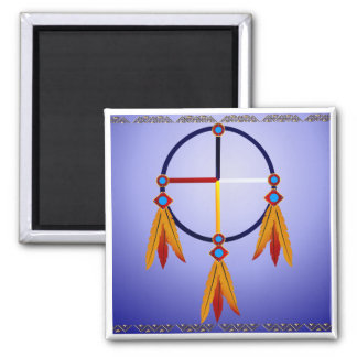 The Medicine Wheel Magnet