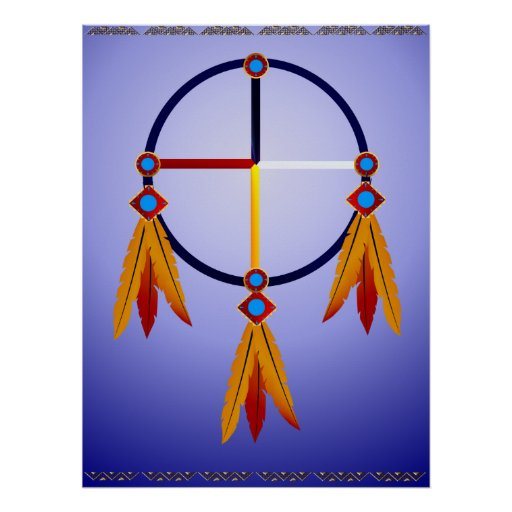 The Medicine Wheel Poster
