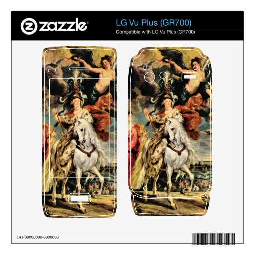 The Medici's by Paul Rubens Decals For LG Vu Plus
