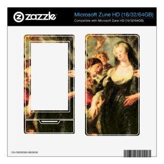 The Medici's queen escapes from Blois by Rubens Zune HD Decal