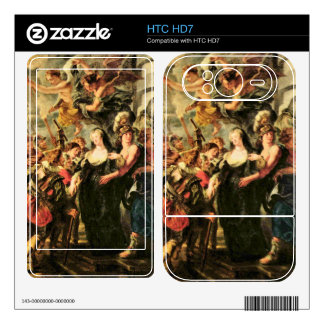 The Medici's queen escapes from Blois by Rubens Decals For HTC HD7