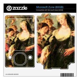 The Medici's queen escapes from Blois by Rubens Decal For The Zune