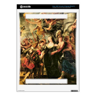 The Medici's queen escapes from Blois by Rubens Xbox 360 Console Skins