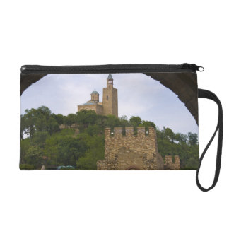 The medieval stronghold of Tsarevets Wristlet Purse