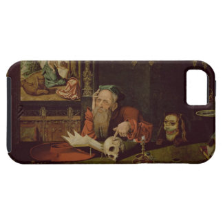 The Meditation of St. Jerome (oil on panel) iPhone SE/5/5s Case