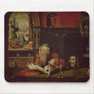 The Meditation of St. Jerome (oil on panel) Mouse Pad