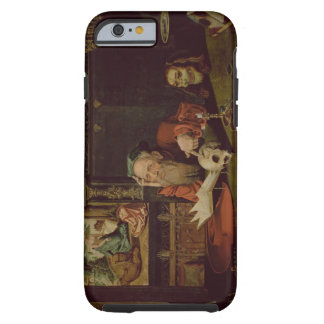 The Meditation of St. Jerome (oil on panel) Tough iPhone 6 Case