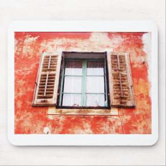 The mediteranean window mouse pad