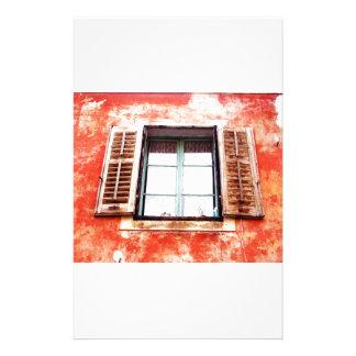 The mediteranean window stationery