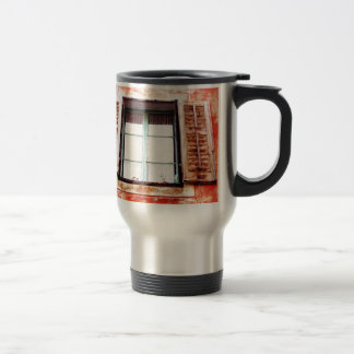 The mediteranean window travel mug