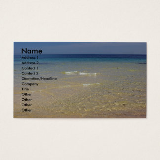 The Mediterranean #1 Business Card
