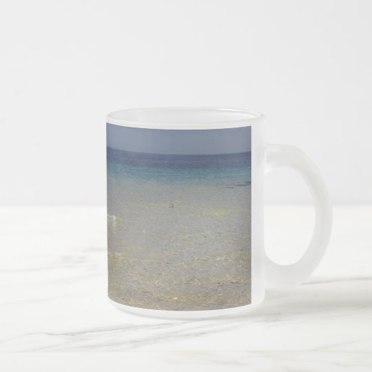 The Mediterranean #1 Frosted Glass Coffee Mug