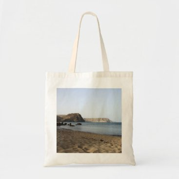 Beach Themed The Mediterranean and beach the Blacks, photograph Tote Bag