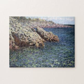 The Mediterranean Cap d'Antibes Monet Fine Art Jigsaw Puzzle