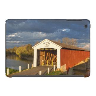 The Medora Covered Bridge Built In 1875 iPad Mini Cases