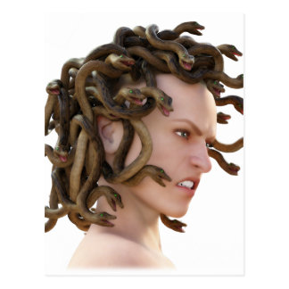 The Medusa Postcard