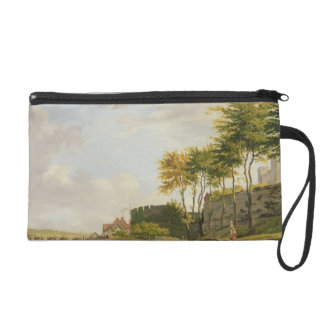 The Medway at Rochester, 1776 (oil on canvas) Wristlet Purse
