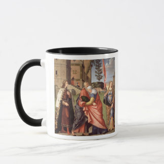 The Meeting at the Golden Gate with Saints, 1515 ( Mug