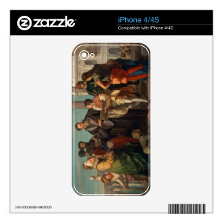 The Meeting Between Titian (1488-1576) and Verones iPhone 4S Decals