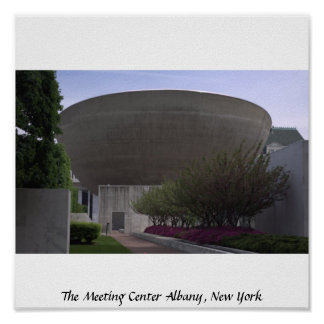 The Meeting Center Albany, New York Poster