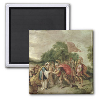 The Meeting of Abraham and Melchizedek Magnet