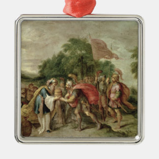 The Meeting of Abraham and Melchizedek Metal Ornament