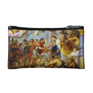The Meeting of Abraham and Melchizedek Rubens art Cosmetics Bags