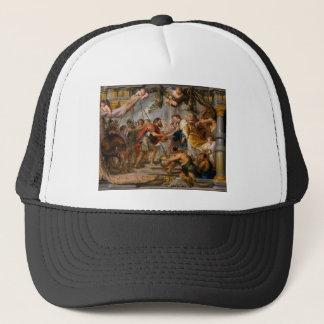 The Meeting of Abraham and Melchizedek Rubens Art Trucker Hat