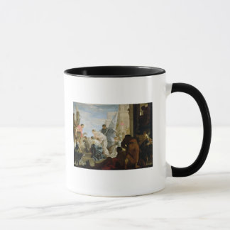 The Meeting of Anthony and Cleopatra, c.1645 Mug
