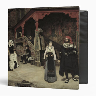 The Meeting of Faust and Marguerite, 1860 3 Ring Binder