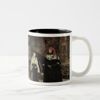 The Meeting of Faust and Marguerite, 1860 Two-Tone Coffee Mug