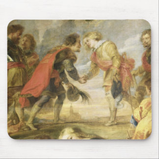 The Meeting of Ferdinand II Mouse Pad