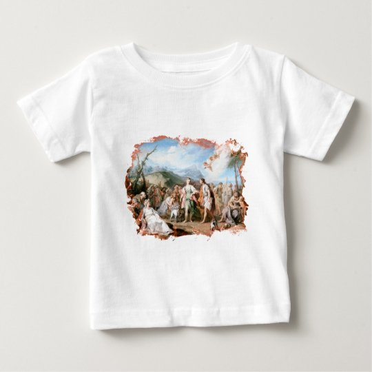 The Meeting of Habrokomes and Antheia Baby T-Shirt