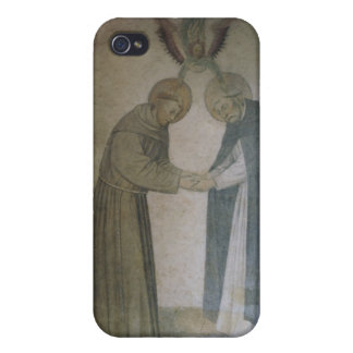 The Meeting of St. Dominic and St. Francis (fresco iPhone 4 Cover