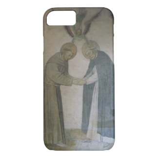 The Meeting of St. Dominic and St. Francis (fresco iPhone 8/7 Case