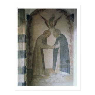 The Meeting of St. Dominic and St. Francis (fresco Postcards
