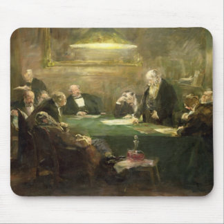 The Meeting of the Board of Directors, 1900 Mouse Pad