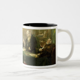 The Meeting of the Board of Directors, 1900 Two-Tone Coffee Mug