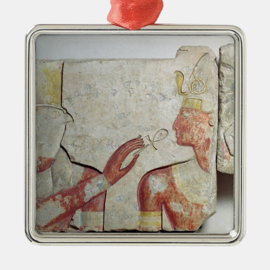The Meeting of the Pharaoh and Horus Metal Ornament