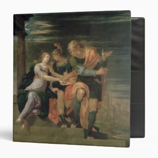 The Meeting of Theagenes and Chariclea 3 Ring Binder