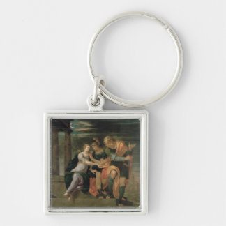 The Meeting of Theagenes and Chariclea Keychain
