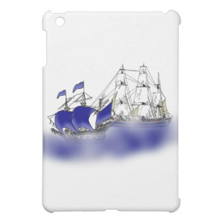 The Meeting of Two Tall Ships iPad Mini Case