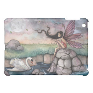 The Meeting Place Fairy and Swan Fantasy Art Cover For The iPad Mini