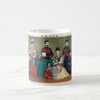 The Meiji Emperor of Japan and the Imperial Family Coffee Mug