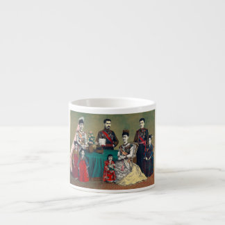 The Meiji Emperor of Japan and the Imperial Family Espresso Cup