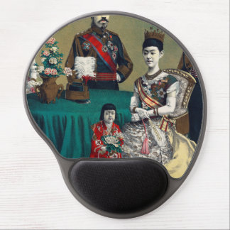 The Meiji Emperor of Japan and the Imperial Family Gel Mouse Pad