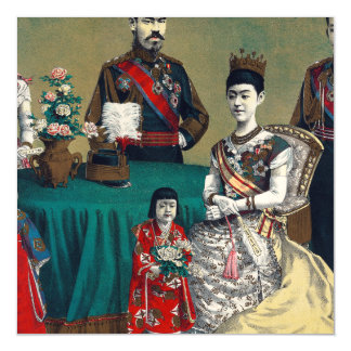 The Meiji Emperor of Japan and the Imperial Family Magnetic Card