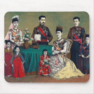 The Meiji Emperor of Japan and the Imperial Family Mouse Pad