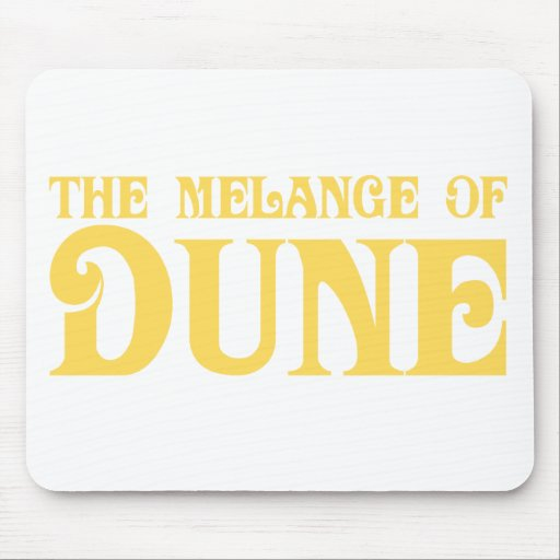 The Melange of Dune Mouse Pad